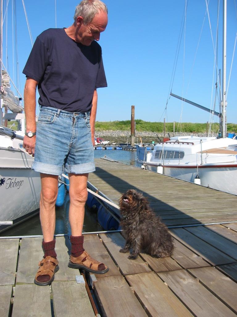 101 Rudi met hond