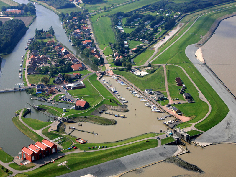 luchtfoto haven